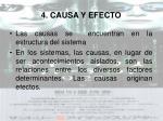 4 causa y efecto