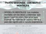 parte segunda los mapas mentales