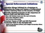 special enforcement initiatives13