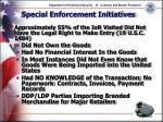 special enforcement initiatives14