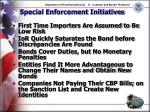 special enforcement initiatives16