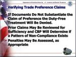verifying trade preference claims11