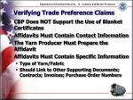 verifying trade preference claims9
