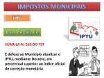 impostos municipais22