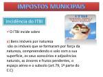 impostos municipais37