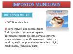impostos municipais38