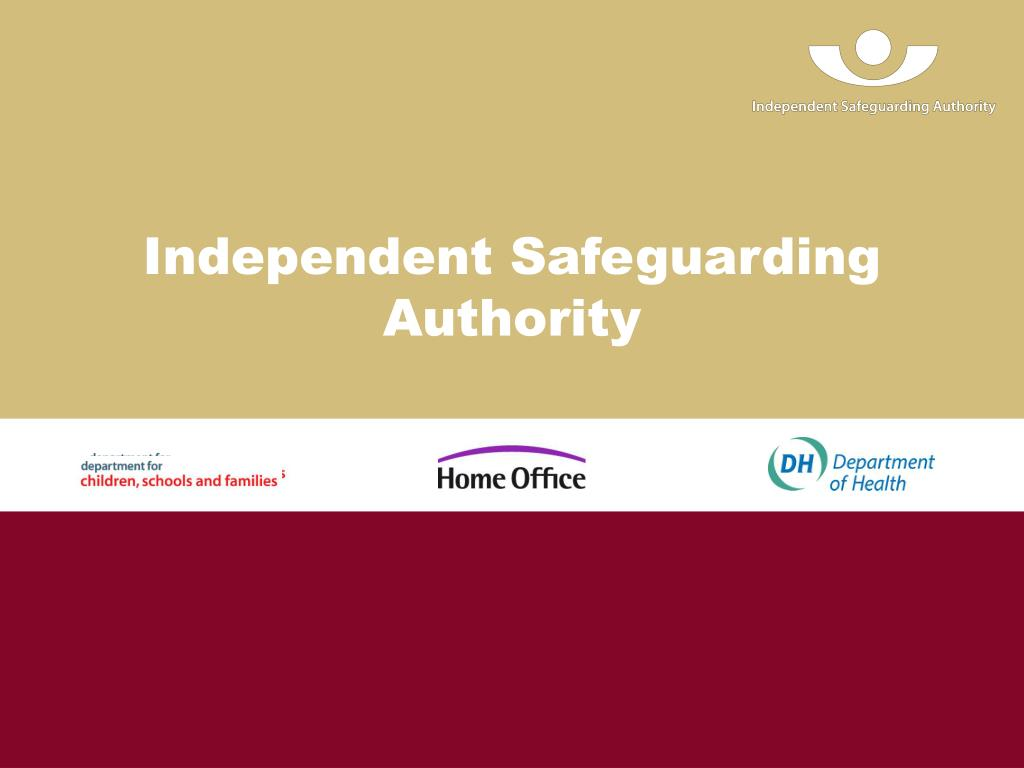 independent safeguarding authority l.