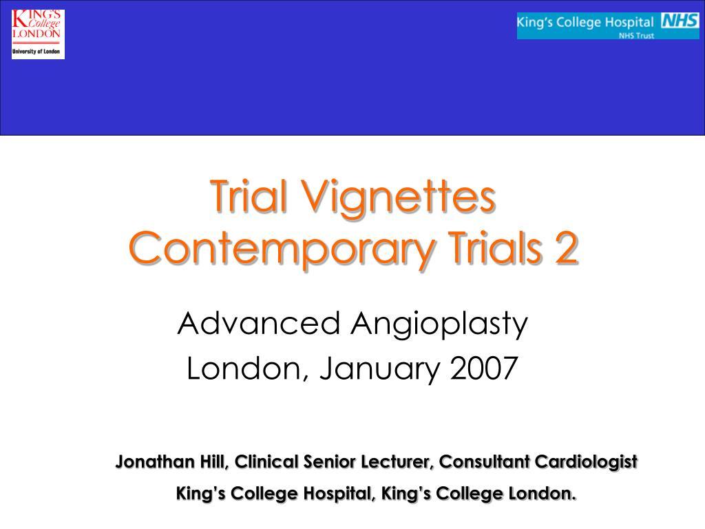 trial vignettes contemporary trials 2 l.