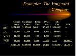 example the vanguard company13