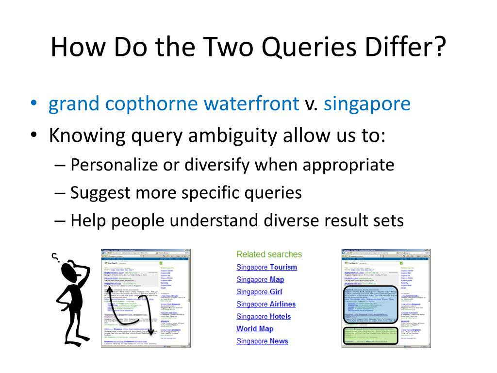 How Do the Two Queries Differ?