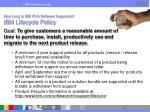 how long is ibm ipla software supported ibm lifecycle policy