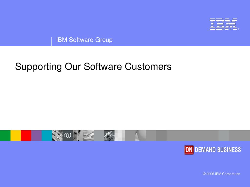 supporting our software customers l.