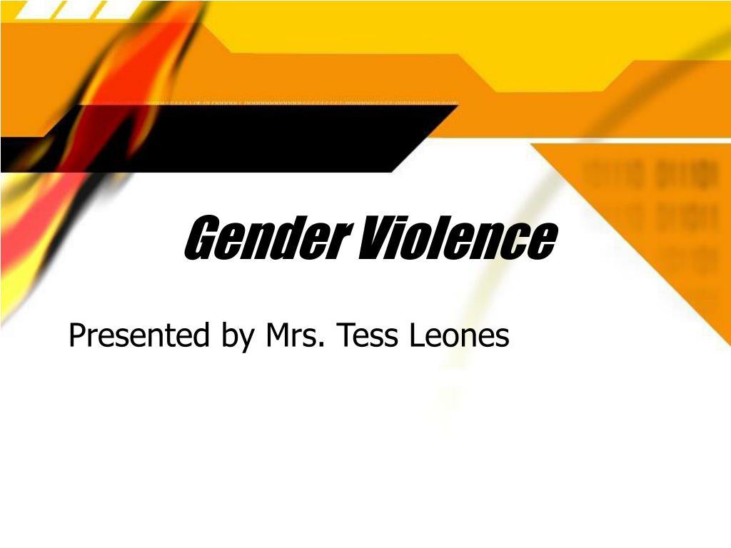 gender violence l.