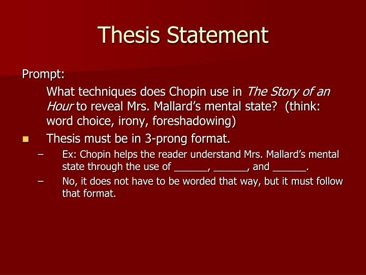 Difference between thesis and journals