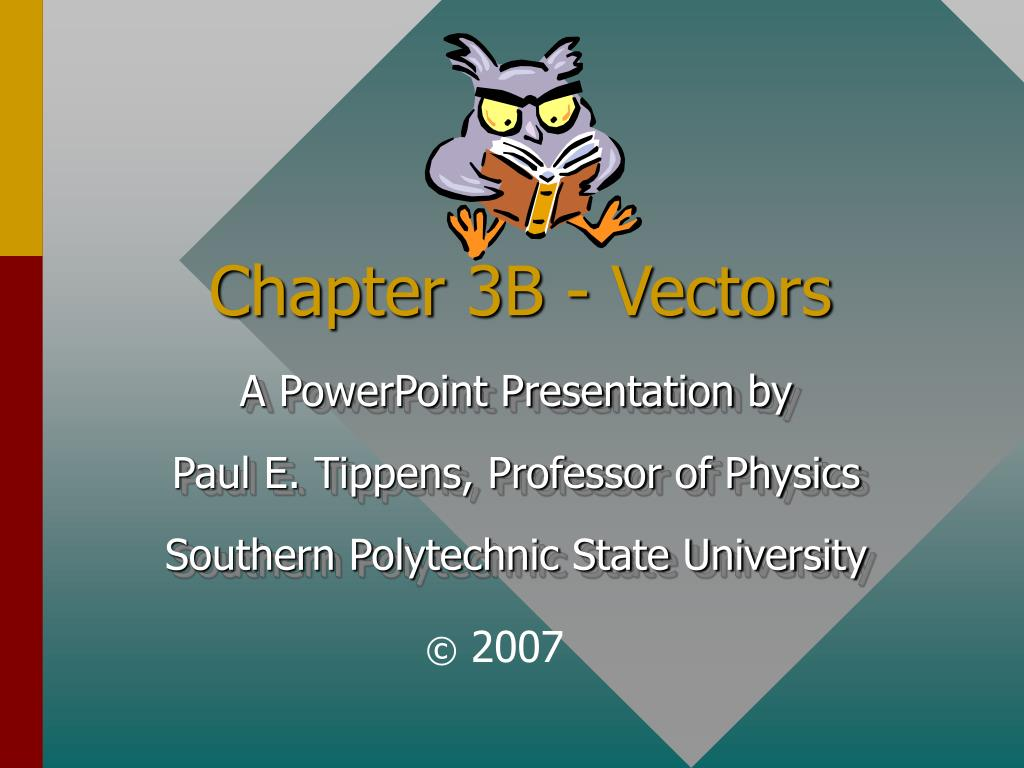 chapter 3b vectors l.