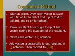 component method