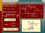example 9 cont find resultant displacement43