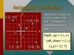 rectangular coordinates