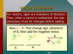 vector difference64