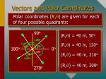 vectors and polar coordinates17