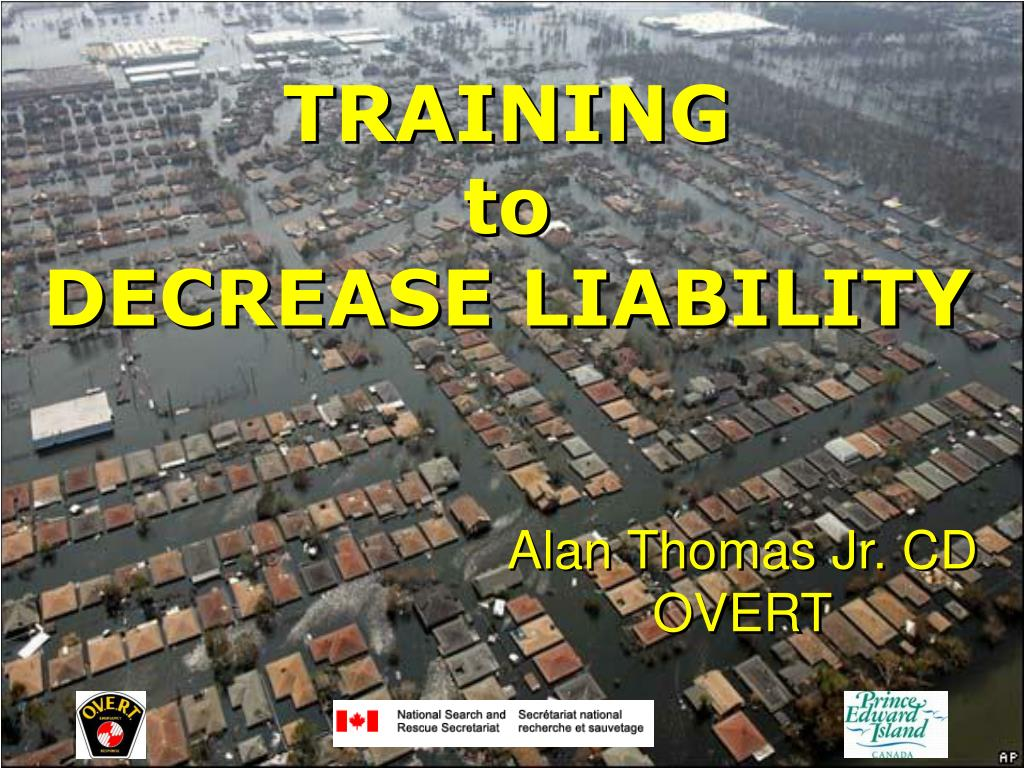 training to decrease liability l.