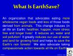 what is earthsave