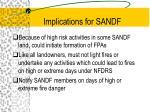 implications for sandf26