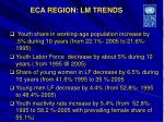 eca region lm trends