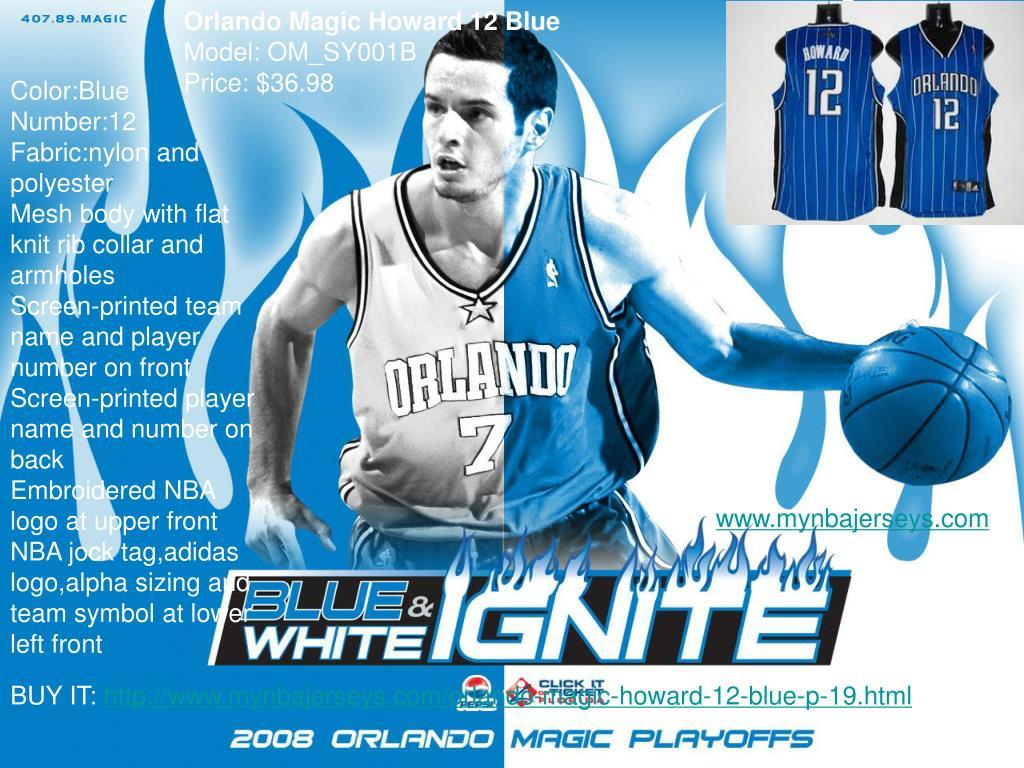 Orlando Magic Howard 12 Blue