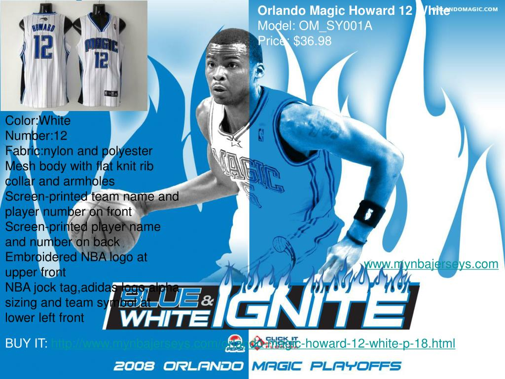 Orlando Magic Howard 12 White