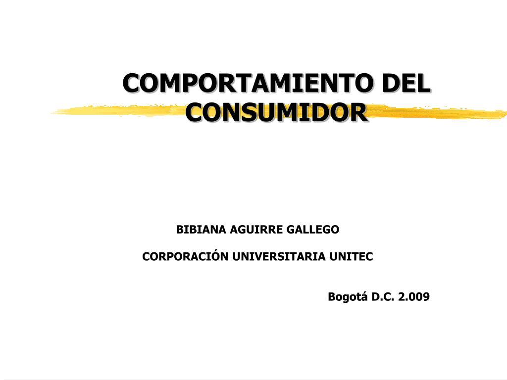comportamiento del consumidor l.