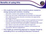 benefits of using hvs