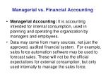 managerial vs financial accounting