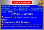 acidosi ruminale