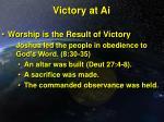 victory at ai24