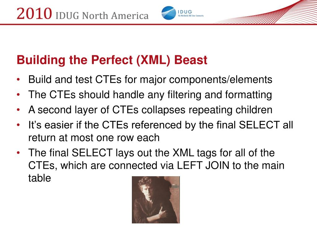 Building the Perfect (XML) Beast