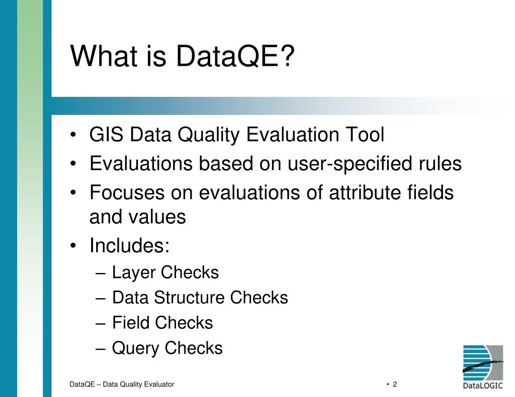 What is DataQE?