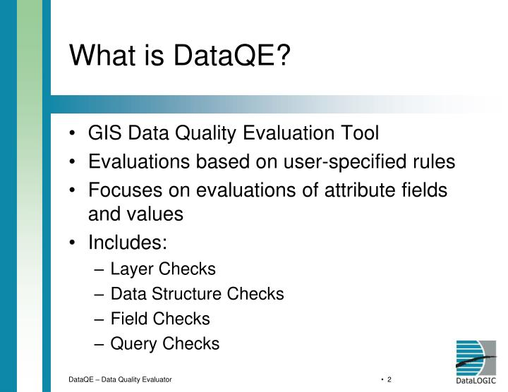 What is dataqe