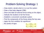 problem solving strategy 1
