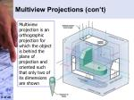 multiview projections con t