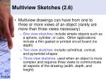 multiview sketches 2 6