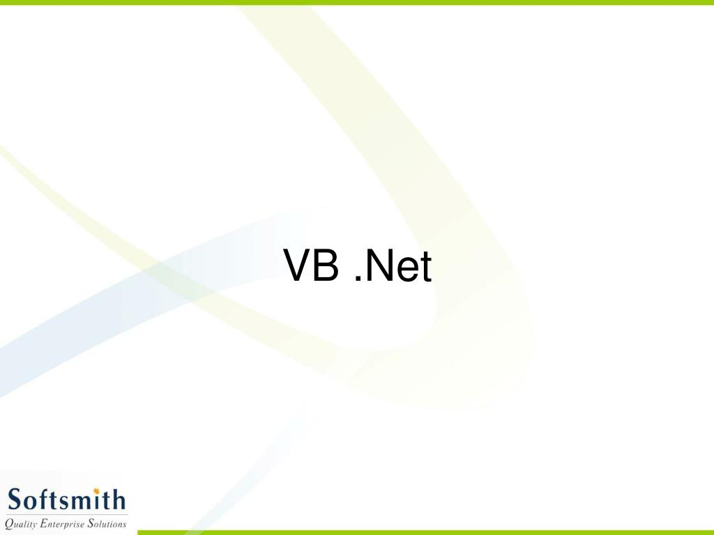 PPT - VB  Net PowerPoint Presentation, free download - ID:783769
