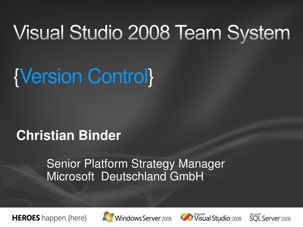 visual studio 2008 team system version control l.
