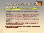 propiedades deseables de un modelo requicha16