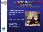 6 planning for success to plan and prioritise to set goals and find balance in life28