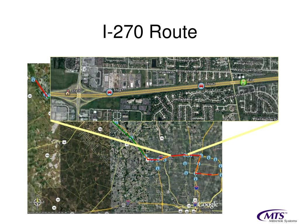 I-270 Route
