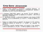 crna gora obrazovanje