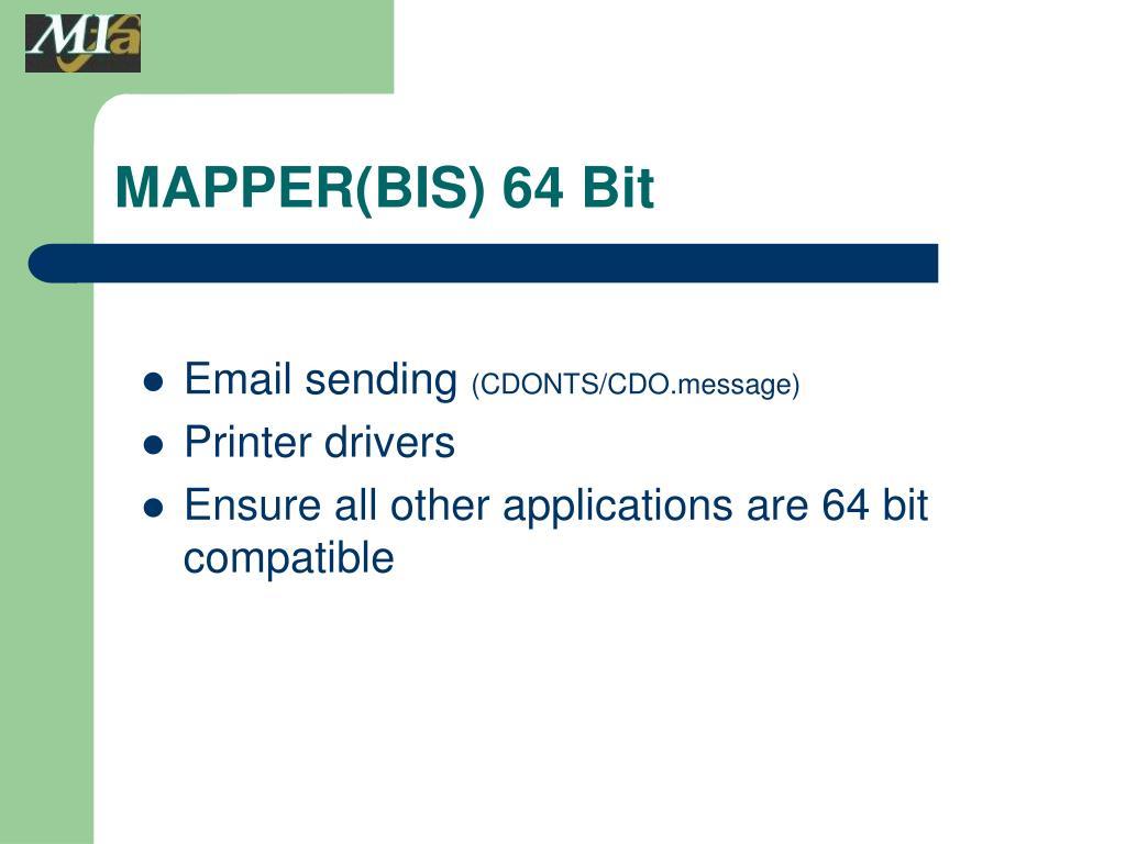 MAPPER(BIS) 64 Bit