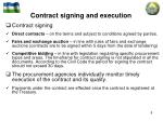 contract signing and execution