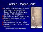 england magna carta